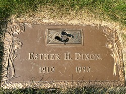 Esther <I>Hellum</I> Dixon