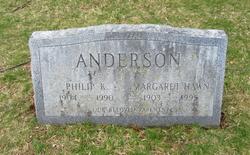 Margaret <I>Hawn</I> Anderson