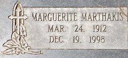 Marguerite <I>Stavropoulos</I> Marthakis