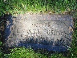 Elizabeth Theresa <I>Hanes</I> Grones
