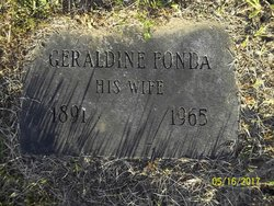 Geraldine Gertrude <I>Fonda</I> Catanzaro