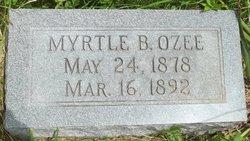 Myrtle B Ozee