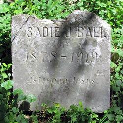 Sadie J. Ball