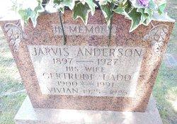Gertrude <I>Ladd</I> Anderson