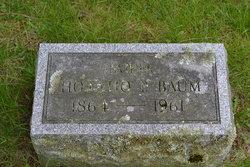 Horatio Peter Baum