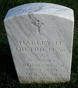 Harley Harrison Dietrich, Sr