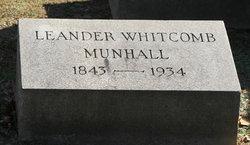 Leander Whitcomb Munhall