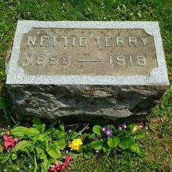 "Nancy Evanette ""Nettie"" <I>Bates</I> Terry"