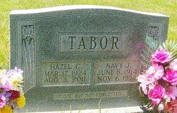 Hazel Naomi <I>Cox</I> Tabor