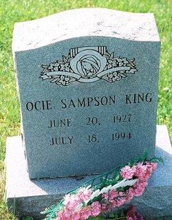 Ocie G. <I>Sampson</I> King