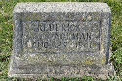 Frederick Ackman