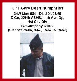 Capt Gary Dean Humphries