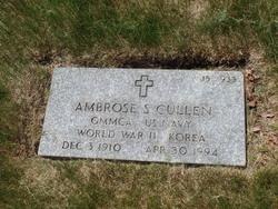 Ambrose S Cullen