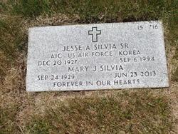 Jesse A Silvia, Sr