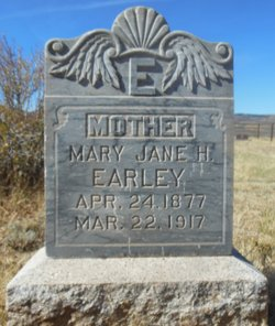 Mary Jane <I>Hyden</I> Earley