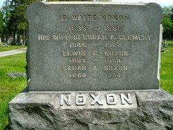 Deborah A <I>Clements</I> Noxon