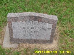 Charlotte M. Anderson