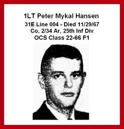 Lieut Peter Mykal Hansen