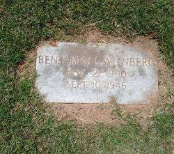 Benjamin Louis Weinberg Sr.