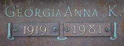 """Georgia Anna Katherine """"Jo"""" <I>Franklin</I> McAllister"""