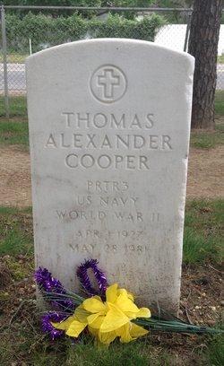 Thomas Alexander Cooper