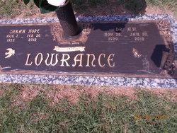 Dr A. V. Lowrance