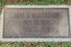 Mary Lois <I>Sanders</I> Barksdale