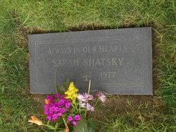 Sarah Shatsky