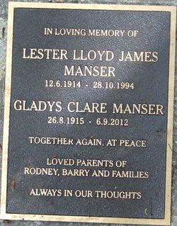 Gladys Clare Manser