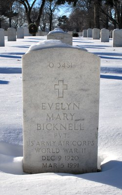 Evelyn Mary Bicknell