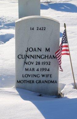 Joan Marilyn <I>Bicknell</I> Cunningham