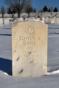 Edwin Alfred Dahl, Sr