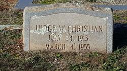 Judge W. Christian