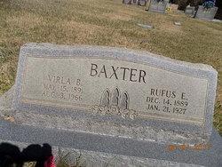 Verlie B <I>Pendley</I> Baxter