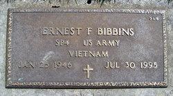 Ernest F Bibbins