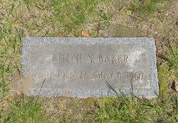 Edith Sarah <I>Tufts</I> Baker
