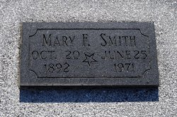 Mary Frances <I>Fisher</I> Smith