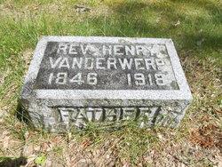 Rev Henry Vanderwerp