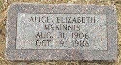 Alice Elizabeth McKinnis