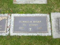 PFC Donald Arthur Bailey