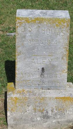 """Alice """"Alley"""" <I>Baker</I> Thomas"""