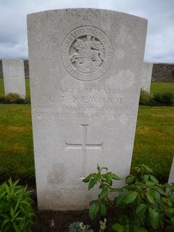 Private C T Newham