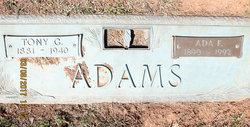 Ada Catherine <I>Frantz</I> Adams