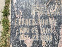 Esther Eunice Frankian