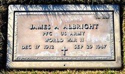 James A Albright