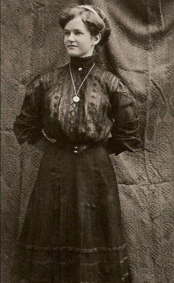 Clara Ludeen <I>Christensen</I> Bishop