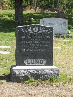 Elvira A. <I>Foster</I> Lund