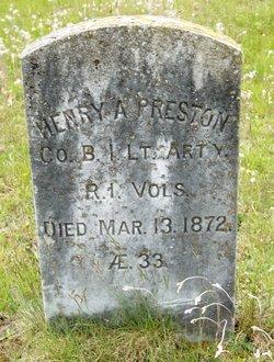 Henry A. Preston