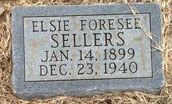 Elsie <I>Forsee</I> Sellers