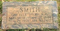 Rev W F Smith